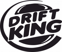 Наклейка DRIFT KING фото